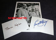 It's A Mad Mad World Signed Arnold Stang And Marvin Kaplan Gas Station W/ Photo