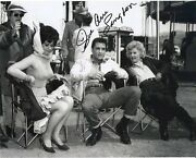 Elvis Presley Signed Photo Sue Ane Langdon Costar Roustabout Excellent Rare