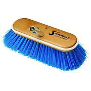 Shurhold 10 Extra-soft Deck Brush - Blue Nylon Bristles For Delicate Surfaces