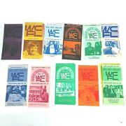 Wcfl Chicago Radio Music Survey Lot 1970s Collectors Issue Advertisements Promo