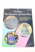 Vintage Bates And Sons Circlular Sweater Blanket Knitting Sewing Directions Book