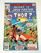 What If... 10 Marvel Comics Aug 1978 Jane Foster Becomes Thor