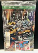 Wizard Magazine Superman 1st Edition Tribute Magazine Dc Comics Sealed With Card