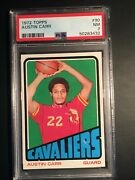 1972 Topps Austin Carr Rookie Card 90 - Graded Psa 7 - Rc - Cavaliers