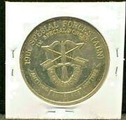 Us Army 19th Special Forces Airborne 1st Special Forces Challenge Coin