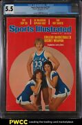 1977 Sports Illustrated Newsstand Larry Bird 1st College Cover V47 22 Cgc 5.5
