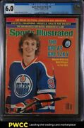 1981 Sports Illustrated Newsstand Wayne Gretzky 1st Cover V55 16 Cgc 6.0