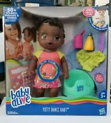 Baby Alive Potty Dance Baby African American Doll 50 Sounds/songs