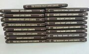 Lot Of 17 Louis L'amour Western Collectable Books Novels Hard Leatherette Cover