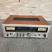 Denon Tu-500 Stereo Fm Stereo Tuner Rare Vintage Japan Used Working F/s