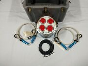 nuclear Associates Voltage Divider Tank Model 07-476 With Travel Case