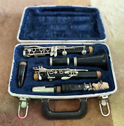Vintage Buffet Crampon And Co Clarinet A Paris W/ Case B 12 Made In West Germany