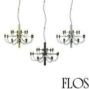 Flos 2097/18 Light Bulbs Chandelier Iron A Hanging Dimmable By Gino S