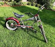 Schwinn Occ Chopper Stingray Bicycle 3 Speed Edition Maroon Shipping Available