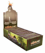 2400 Booklets Ultra Eco Clear Cigarette Rolling Papers 100 Sealed Boxes