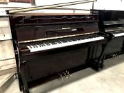 Schafer And Sons Vs-42 Upright Piano 42 Polished Mahogany