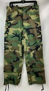 Usgi Us Army Military Ecwcs Cold Weather Goretex Woodland Pants Small Long