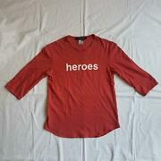 Vintage Raf Simons David Bowie Heroes Three-quarter Sleeve Cut And Sew Size