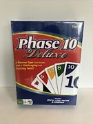 New Sealed Vintage Phase 10 Deluxe Card Game Fundex 1982 No 9420