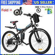 Best Electric Bike Mountain Beach Bicycle City Foldable Ebike Removeable Battery