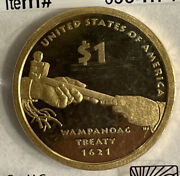 2011 S Sacagawea Native American Dollar In Sealed Package Marked Ch Proof-63 Rc