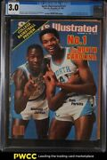 1983 Sports Illustrated Newsstand Michael Jordan 1st Coll. Cover V59 23 Cgc 3