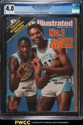 1983 Sports Illustrated Newsstand Michael Jordan 1st Coll. Cover V59 23 Cgc 4