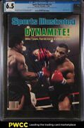 1986 Sports Illustrated Newsstand Mike Tyson 2nd Cover V65 24 Auto Cgc 6.5