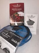 Copper Chef Microwave Grill With Grill Press Lid And Accessories