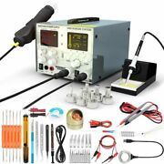 Lcd Welding Station Soldering Iron Tools And Stand Workshop Solder Accessory Kit