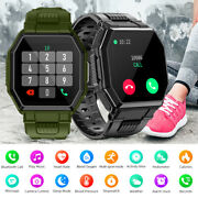 2022 Touch Smart Watch Women Men Heart Rate For Iphone Android Ios Waterproof