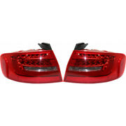 For Audi S4 Sedan / A4 Wagon Tail Light 2013 14 15 2016 Pair Rh And Lh Side Led