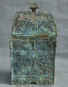 12 Chinese Dynasty Palace Old Antique Bronze Granary Barn Storehouse Warehouse