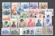 1949 San Marino Year Complete Stamps New 32 Val New Mnh Hallmarked