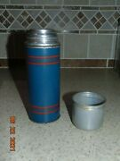 Vtg 1940's Keapsit Vacuum Bottle And Lunch Box.b2233 American Thermos Bottle Co
