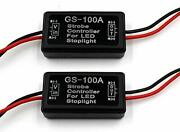 Fxc 2x 24w Flash Strobe Controller Flasher Module For Led Brake Light Tail S...