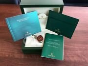 Rolex Gmt Master Ii 2013 Small Box, Instructions Manual, Service Book And Tag