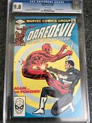 Daredevil 183 Cgc 9.8 Nm/mt White Pages Punisher Frank Miller 6/82