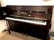 Schafer And Sons Vs-40 Upright Piano 40 Polished Mahogany