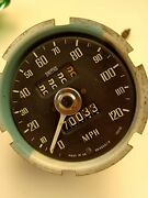 Used Smiths Mg Mgb 120 Mph Speedometer Gauge Sn5230 /13 / Missing Bezel And Glass
