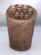 J H Boone Limited Edition Art Sculpture Candle Holder Signed Lan Spurgers 1999