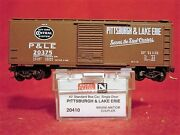 Mtl 20410-2 Pittsburgh And Lake Erie Pandle 40' Box Car 20375 'new' N-scale