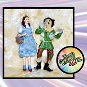 2 Hallmark Ornaments - Wizard Of Oz - 2007 Dorothy Gale And 2008 Scarecrow