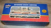 Usa Trains G Scale R12113 Amtrak Extended Vision Caboose Rare Find