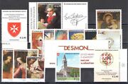 2020 Smom , Stamps New, Year Complete 14 Values +11 Sheetlets Mnh