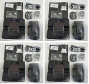 4 New In Box Unlocked Blackberry Bold 9900 Black Cell All Accessories 3g New