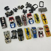 Vintage Slot Car Lot, Bodies, Chassis, Parts Used Condition, See Photos