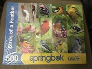 Springbok's 500 Piece Jigsaw Puzzle Birds Of A Feather New And Sealed