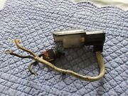 1955 Singer Featherweight Sewing Machine 221 Light And On/off Switch Assemblies