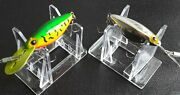 Lot Of 2 Vintage Storm Thin Fin Hot N Tot Fishing Lures